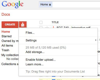 Google Docs 免费容量升至 5GB,难道是托了 Google Drive 的福?