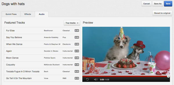 YouTube 让你轻松在影片中加入背景音乐,新增音频编辑功能