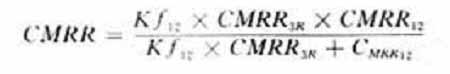 三运放组装放大器的共模抑制比
