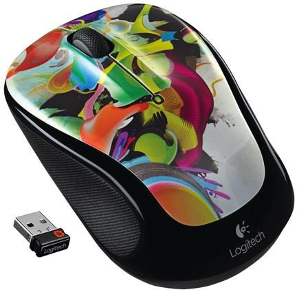 Logitech 发布涂鸦图案系列鼠标,来自时尚潮流及本土风格