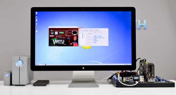 Windows 系统的 Thunderbolt 被动手玩,尚未支持热插入功能
