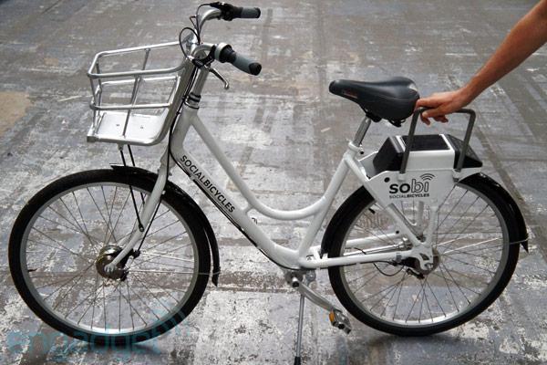 走,租车去!Social Bicycles 租赁自行车动手玩(视频)