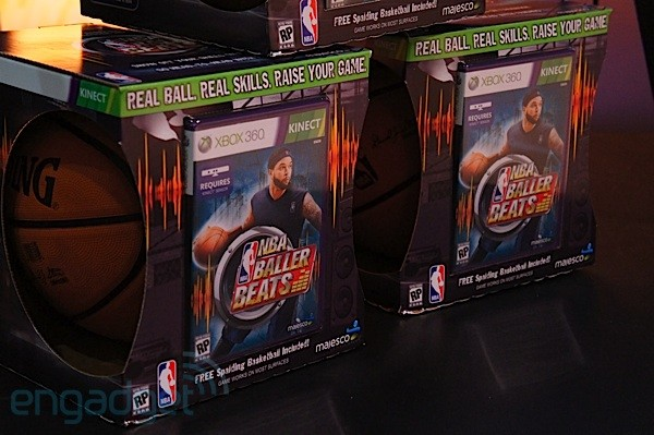 NBA Baller Beats 游戏,配合你的 Kinect 来个篮球运动吧