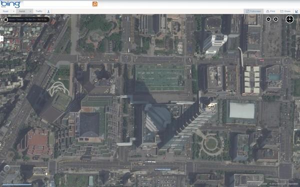 Bing Maps 再次扩充 165TB 的卫星空拍照(Google Earth 在背后而且它非常火)
