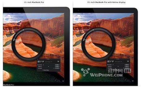全线Mac需要多少分辨率才达到Retina标准?