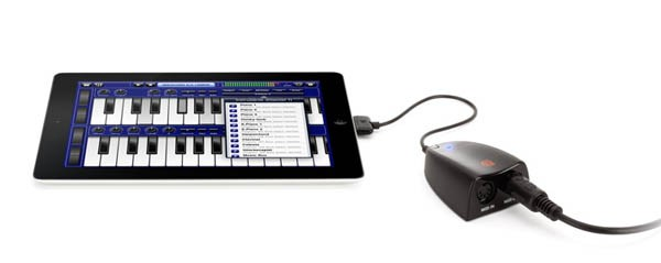 Griffin 推出 MIDIConnect,80 美元让你用 iDevice 做出美妙的 MIDI 音乐(视频)