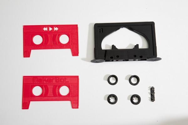 复古风袭来,MakerBot 推出 3D 塑模 MP3 播放器