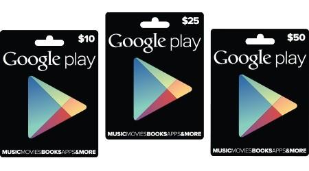 Google 正式在美国推出 Google Play gift card,其它地区仍是未定