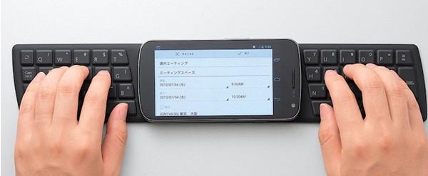 Elecom 推出「抛弃式」的 NFC 手机用键盘,你会考虑要一个吗?