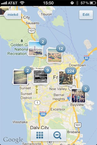 Instagram 新增相片地图与无限卷动功能,并提升执行速度