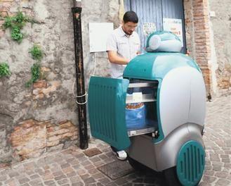 意大利研发垃圾车机器人 可登门回收垃圾