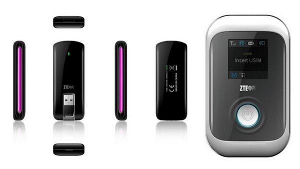 中兴公布同时支援 FDD-LTE丶TDD-LTE 及 TD-SCDMA 的 USB 数据卡及行动网络分享器 - MF820S2 及 MF91S