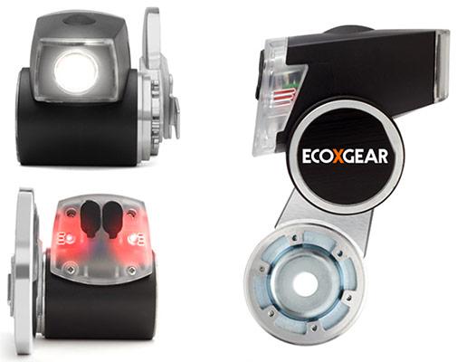 EcoXPower:结合为单车前後灯供电与手机充电,善尽每一次踩踏
