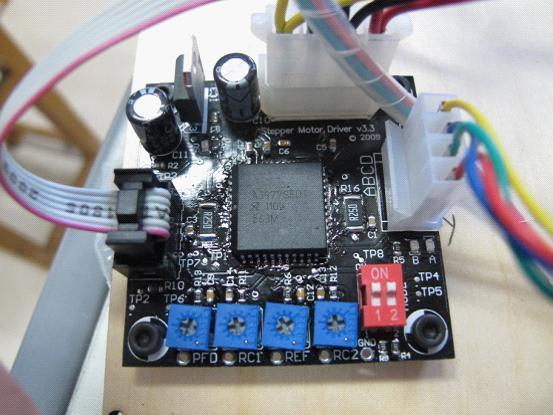 的步进电机控制电路,结构也非常简单-详解3D打印机控制原理图片