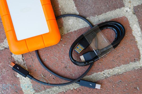 LaCie 公布 Rugged USB3,除了 USB 3.0 还支持 Thunderbolt