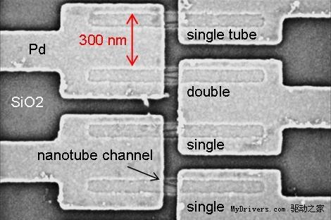 IBM成功研制:用碳纳米管取代传统芯片中的硅