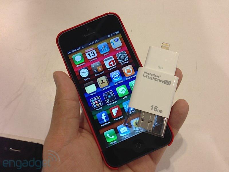 Photofast i-FlashDrive HD 今年年底将推出支持 Lightning 接口的版本
