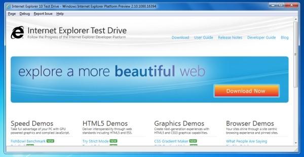 微软将于 11 月中为 Windows 7 推出 Internet Explorer 10 预览版