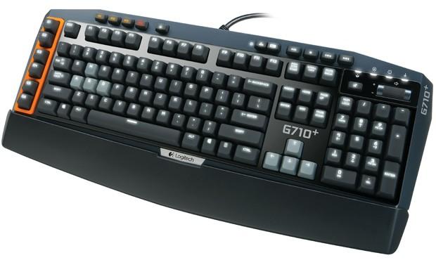 Logitech G710+ 游戏键盘发布,更安静、响应更快且带背光效果