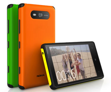 Nokia 公布 Lumia 820 的加固型背盖