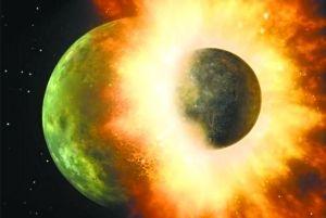 科学家发现新证据证明月球由地球遭撞击形成