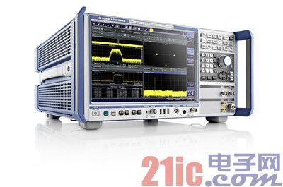 R&S公司的信号与频谱分析仪FSW增加模拟基带输入功能