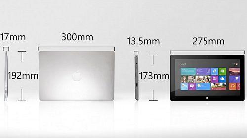 拿MacBook Air与Surface Pro对比一下 - 21IC中