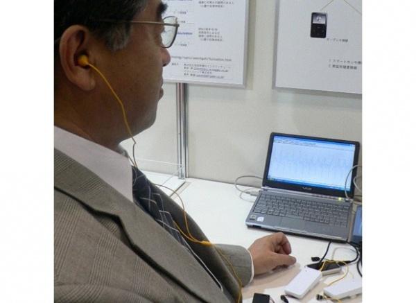 新的可穿戴处理技术可以让现成的耳机变身脉搏监控器