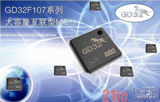 GigaDevice发布GD32F107系列大容量以太网互联型MCU