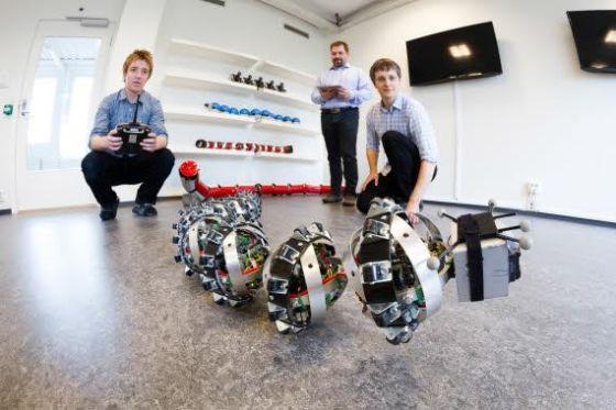 挪威科学家研发蛇形机器人用于火星探测