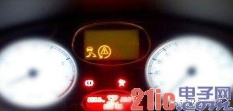 汽车仪表盘上那些很多人都不懂的标识高清图片