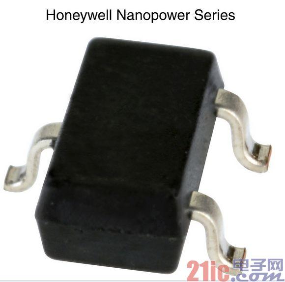霍尼韦尔率先发布纳安级超低功耗磁阻传感器集成电路
