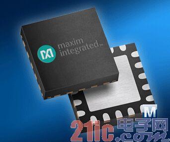 Mouser 率先供应业界最快的 20 位 ADC Maxim MAX11905