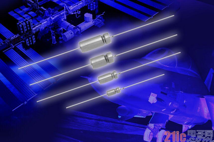 Vishay液钽电容器通过DLA 15005认证