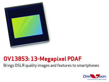 PURECEL图像传感器为手机提供相位检测自动对焦