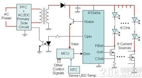 LED路灯电源设计电路图