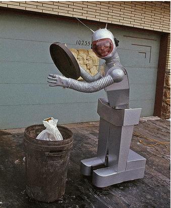 沃尔沃也开始研究机器人?准备指挥其倒垃圾