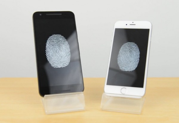 苹果iphone 6s与谷歌Nexus 5X谁的指纹解锁更快?