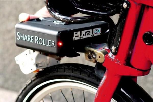 这装置可以分分钟将自行车变电动车
