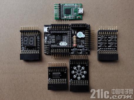 口袋中的工具――周立功AM824开发板评测