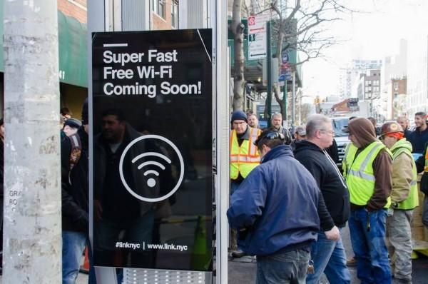 羡慕!纽约开始安装千兆高速Wi-Fi热点