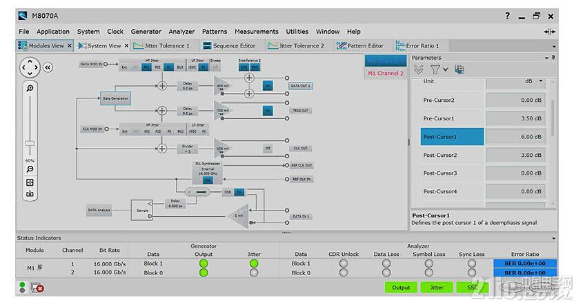 是德科技为其M8000 系列比特误码率(BER)解决方案 增加多通道应用功能