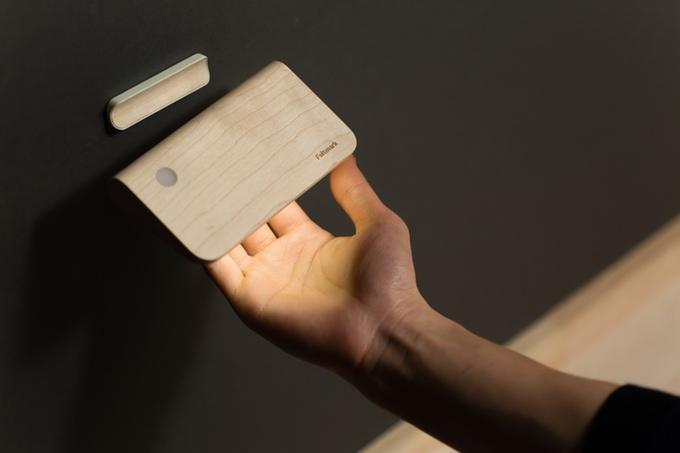 Ellume:一款超简洁的太阳能智能灯