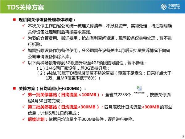 关闭是必然:揭秘中国移动的3G网络伤疤