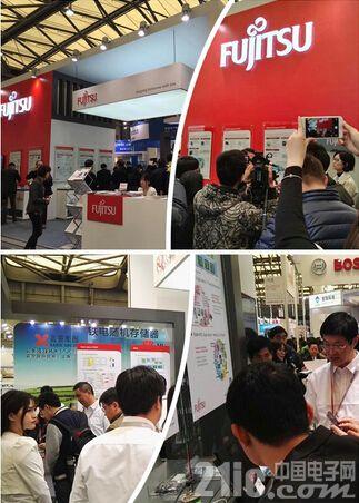 Fujitsu原厂基因代理模式引关注,虚拟仪表和新能源汽车电源方案抢镜
