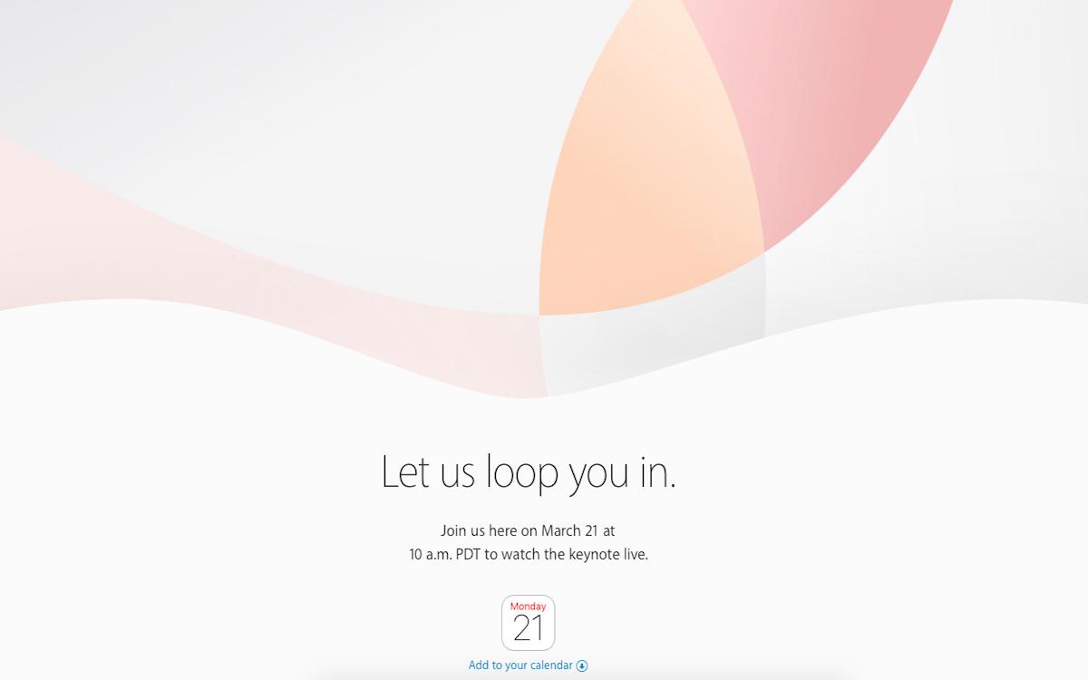 """苹果2016发布会邀请函""""Let us loop you in""""猜想"""