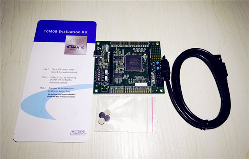 跨界小王子——Altera 10M08 Evaluation Kit评测
