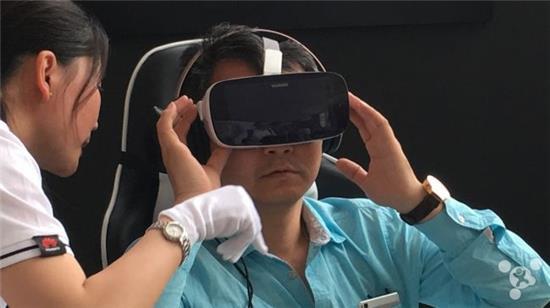 首个360°视声同步 华为VR眼镜上手体验