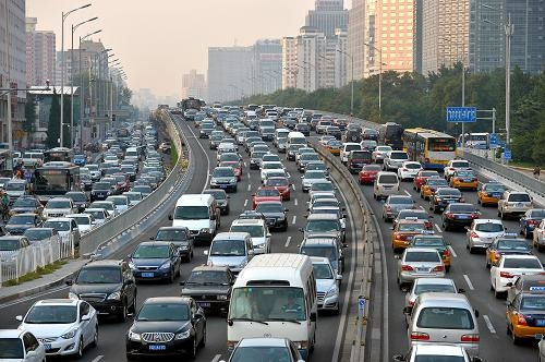 """治""""霾""""狠招!北京要收拥堵费:标准与国际接轨"""