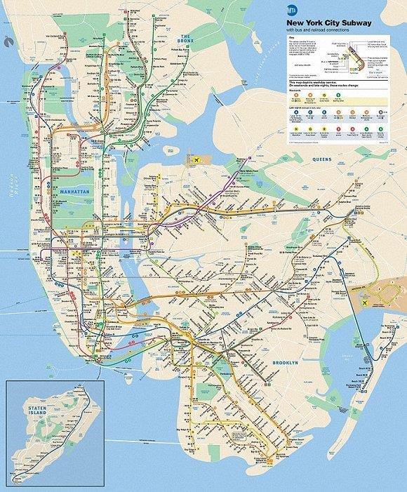 北京上海都上榜!世界上最复杂的15张地铁线路图